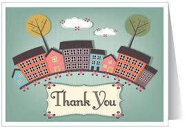 thank you from real estate card 15200 harrison greetings