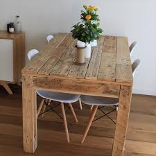 Diy Wood Dining Table Top by The 25 Best Pallet Dining Tables Ideas On Pinterest Table And