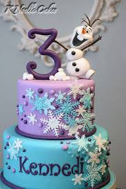 Christmas Cake Decorations Frozen by