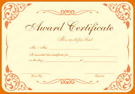 award certificate samples 8 award certificates templates itinerary template sample