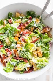 Best Salad Recipes Blt Salad Recipe Best Blt Salad Dressing Natashaskitchen Com