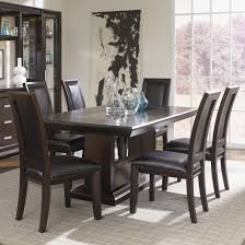 najarian brentwood seven piece dining room table set del sol