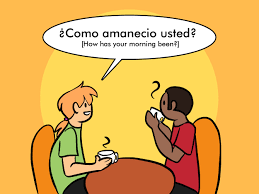 happy thanksgiving spanish how to say good morning in spanish goodmorning pinterest spanish