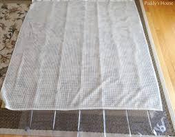 Regular Curtains As Shower Curtains Diy Shower Curtain U2013 Puddy U0027s House