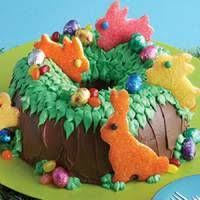 Easter Decorated Bundt Cake by Happy Easter Cake Pop Cake Happy Holidays Pinterest Cake