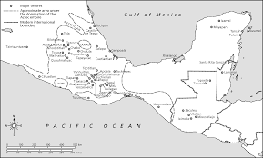 Mesoamerica Map Aztec Universalism Ideology And Status Symbols In The Service Of