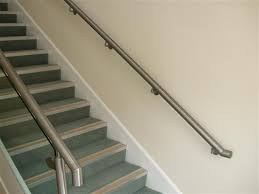 Stainless Steel Banister Rail Handrail And Railings In Steel And Glass And Stainless Athena