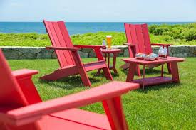 Recycled Adirondack Chairs Chair Design And Solid Resin For Outdoor Red Plastic Adirondack