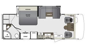 Georgetown Floor Plan Georgetown 3 Series 24w Gas Class A Motorhome Floor Plan