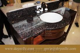 india tan brown granite bathroom vanity tops wt white undermount