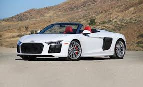 audi v10 convertible audi r8 reviews audi r8 price photos and specs car and driver