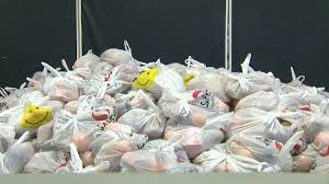 volunteers of america to distribute 1 000 thanksgiving baskets to
