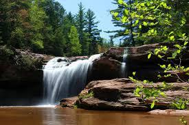 Michigan waterfalls images Waterfalls of northern wisconsin upper peninsula of michigan jpg