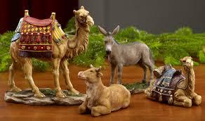 idea glass nativity set nativity sets cat nativity set