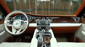 bentley suv inside bentley exp 9 f concept suv autoblog youtube