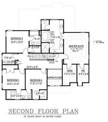 Floor Plan With Elevations by Beautiful 2 Story House Floor Plans And Elevations