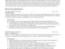 pipeline laborer resume sample free resume