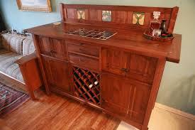 Oak Bar Cabinet A Sideboard Bar Cabinet From Walnut And Quarter Sawn Oak Nomad