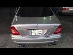 mercedes s600 amg used mercedes s amg silver 2004 for sale in jeddah for 55 000 sr