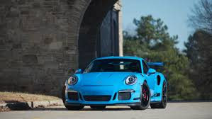 porsche blue gt3 2016 991 gt3 rs paint to sample riviera blue merit partners