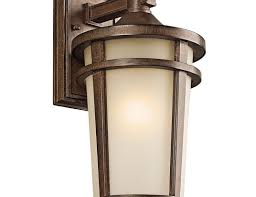 Nautical Wall Sconce Lighting Wooden Materials Based Rolling Long Style Steel Edition