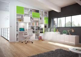 bureau bibliothèque intégré salon bibliothèque agencement de bibliothèque et meuble sur mesure
