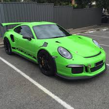 green porsche techart porsche 991 gt3 rs looks good in green