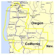 map of oregon eugene oregon eugene mission map