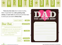 2nd grade father u0027s day worksheets u0026 free printables education com