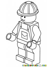 lego man coloring house cool coloring pages