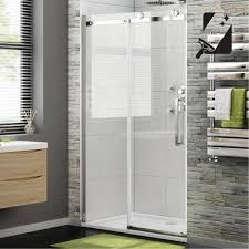 1200mm Shower Door 8mm Luxe Frameless Easyclean Sliding Shower Door