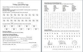 christian worksheets worksheets