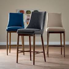 upholstered kitchen bar stools kitchen modern upholstered kitchen bar stools 2 contemporary