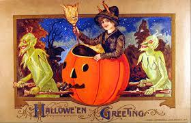 vintage halloween postcard john winsch 1912