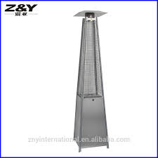 Glass Tube Patio Heater Stainless Steel Glass Tube Square Pyramid Gas Patio Heater View
