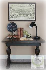 Pottery Barn Knock Off Desk Old Things New U2013 A Pottery Barn Look For A Sweet Trestle Table