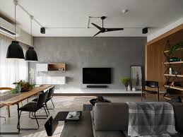striking minimalist lines adorn this young family apartment in china