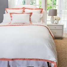 coral and white bedding the linden coral crane u0026 canopy