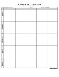 9 best lesson planning images on pinterest blank lesson