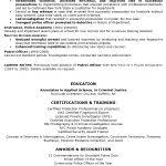 law enforcement resume templates best 25 police officer resume