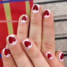 elegant heart nail art designs u0026 ideas for valentine u0027s day 2014
