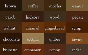 color chart for writing browns random things i love pinterest