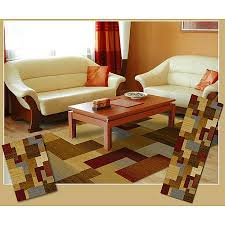 Area Rug And Runner Set Buy Home Dynamix Soho Woven Polypropylene Area Rug 3pc Set In