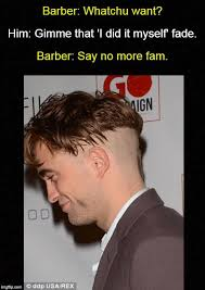 Exle Of Meme - bad haircut barber meme the best haircut of 2018