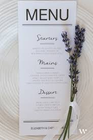 diy wedding menu cards diy wedding wednesday place setting 101 the details
