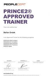 certificates stefan ondek pmp prince2 prince2 agile pmi ipma