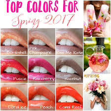 colors spring 2017 trendy lipstick colors for spring hello bold lips by nic