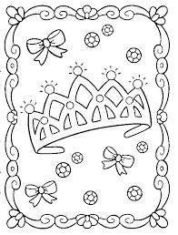 Princess Coloring Page Princess Crown Coloring Page Free Coloring Sheets