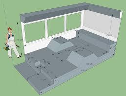 Skoolie Floor Plan Rear Half Of My Non Skoolie Bus Sketched With Dimensions And