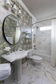 Modern Classic Bathroom by Black And White Transitional Bathroom Photos Hgtv Designer